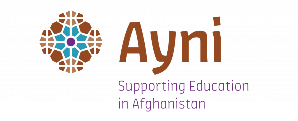 Graphic pattern logo for Ayni Education International