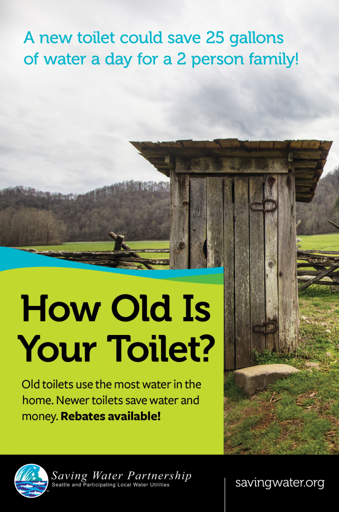 How old is your toilet? Outhouse in the country