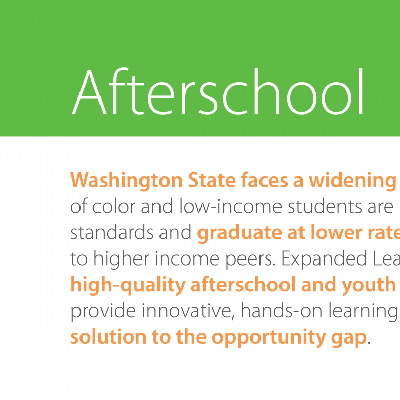 School's Out Washington Fact Sheets | brochure