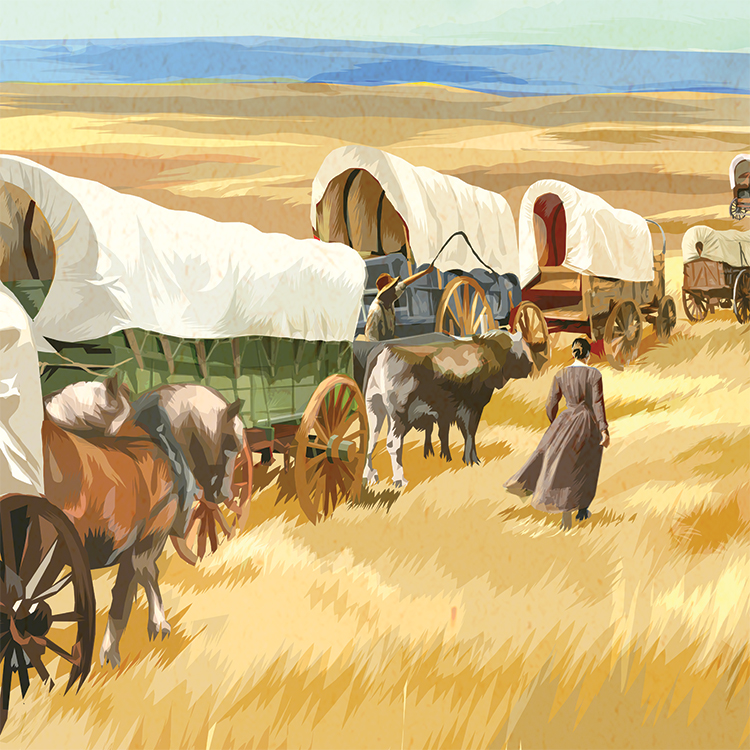 NPS Wayside Exhibit | illustration
